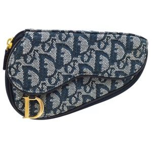 Christian Dior Trotter Saddle Cosmetic Pouch